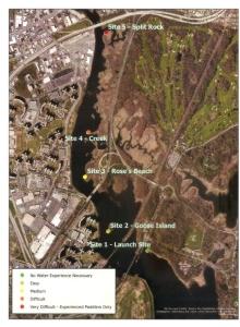 HRRP Clean Up Site Map